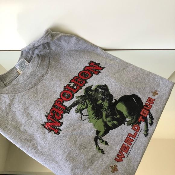 Vintage Other - Napoleon World Tour Graphic Mens T Shirt